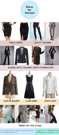 Power dressing! Women's workplace fashion guide
