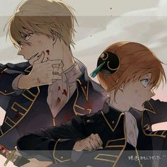 art, anime ve gintama We Heart It 'de resim Anime Couples Drawings, Anime Couples Manga, Cute Anime Couples, Manga Anime, Kawaii Cute, Kawaii Anime, Okikagu Doujinshi, Samurai, Naruto E Boruto