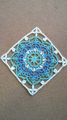 Image of Nina& closet 29 Crochet Motif Patterns, Crochet Blocks, Crochet Squares, Crochet Granny, Filet Crochet, Crochet Doilies, Granny Squares, Cute Crochet, Beautiful Crochet
