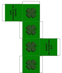 Image detail for -... Design Valentine's Day Box - Free, Printable St. Patrick's Day Crafts