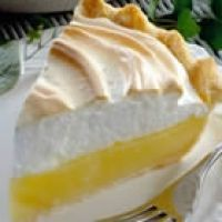 easy lemon meringue pie recipe - appears to be a fairly healthy version