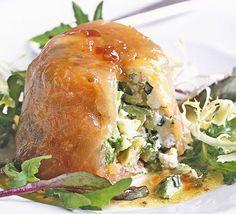 Smoked salmon & avocado terrines @Amazing Avocado #holidayavocado