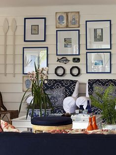 Living Room Nautical Design, Pictures, Remodel, Decor and Ideas