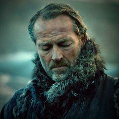 Jorah Mormont (Iain Glen) Game Of Thrones Valar Dohaeris, Valar Morghulis, Winter Is Here, Winter Is Coming, Ramsey Bolton, Ser Jorah Mormont, Iain Glen, A Dance With Dragons, Got Memes