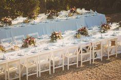 Summer Wedding Table Setting {Ed Peers Photography}