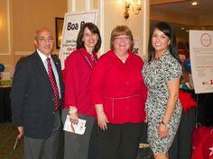 Smiling faces from Robert Scarfo, Denise Krieger, Carmen Wisenbaker, and Monica Zubia.