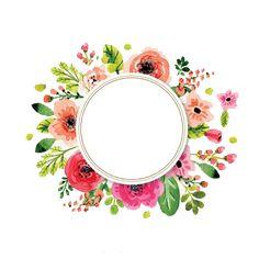 12 Mejores Imagenes De Watercolor Flowers Corona De Flores Png