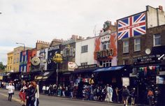 Tired of boring tourist stuff? Go to Camden Market. An absolute must while in London. Just take the tube to Camden Town and you're there. Camden London, Camden Town, Old London, London City, Camden Street, Vintage London, London Calling, Places To Travel, Places To See