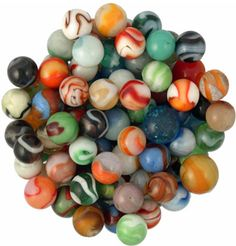Good ol' fashioned marbles - Can't tell you how many marbles I lost at recess! I was horrible at this game, but I loved to play. Marbles For Sale, Marbles Images, Marble Games, Oldies But Goodies, Glass Marbles, Good Ol, Glass Ball, Old Toys, Losing Me