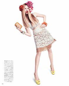 Hailey Clauson by Paola Kudacki for Vogue Japan April 2012