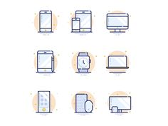 Dribbble - Apple Products by Petr Knoll