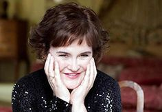 Susan Boyle. She's so inspiring, and I love falling asleep to her music :)