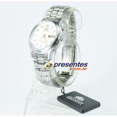 FEM0201YW9 Relógio Orient Automático Masculino Pulseira em aço