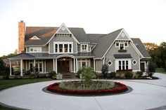 Home exteriors that show you just how many design options you have, ranging from classic to new styles.