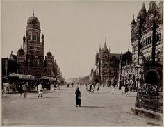 Street Scene, 1880 - Old And Vintage Photographs Of Mumbai Bombay Page 2 of 2 Best of Web Shrine