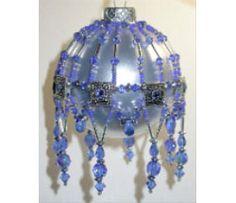 Crystal Slider & Seed Bead Ornament, Sova Enterprises