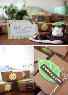 If only i could recreate everything like this baby shower theme! Soooo cute! I'll try...