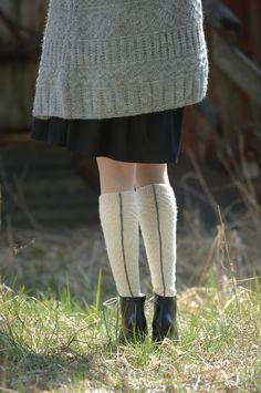 Naisen kohoneulesukat Novita Pikkusisko | Novita knits