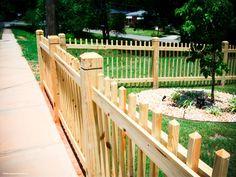 2x2 picket fence
