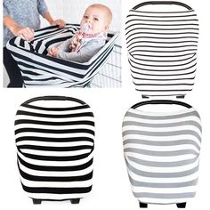Fashion Stretchy Baby Car Seat, Cart Cover Nursing Breastfeeding Cover