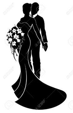 Image result for silhouette brautpaar