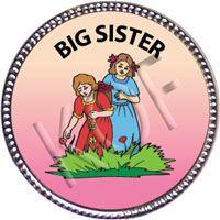Big Sister, Silver Award Pin