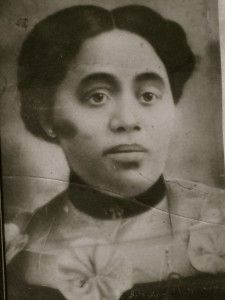 Phoebe Moten Johnson, the great-grandmother of Michelle Obama. She was a sharecroppers daughter, born in 1879, who wanted nothing to do with the farming life. She was among the first of Mrs. Obama's ancestors to see the skyscrapers of Chicago, arriving sometime around 1908.