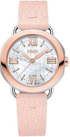 Fendi Timepieces Rose Gold Watch ($1,470)