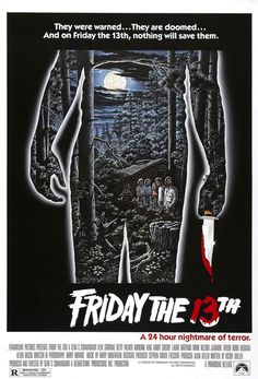 Hot Gift C1369 Art Jason Voorhees Friday the 13th Horror movies slasher Poster