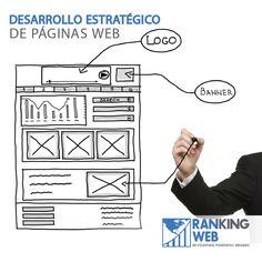 #RankingWeb crea páginas web empresariales de alto rendimiento que conjuntan diseño creativo, usabilidad, seguridad y  adaptabilidad a dispositivos móviles.