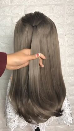 style easy style for girls style for school style long style simple High Ponytail Hairstyles, Twist Braid Hairstyles, High Ponytails, Easy Hairstyles For Long Hair, Headband Hairstyles, Cool Hairstyles, Tomboy Hairstyles, High Ponytail With Braid, Medium Hair Ponytail