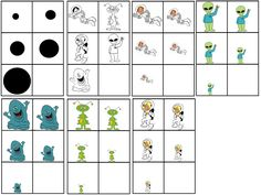 Numeracy- big to small Robot Monster, Space Theme, Math Games, Preschool Activities, Robots, Monsters, Google, Astronomy, Concept