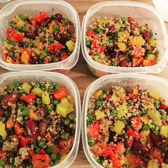 I make this basic quinoa salad almost every week - perfect for lunch for those doing the Lifestyle or Kickstart levels of the Whole Life Challenge!
