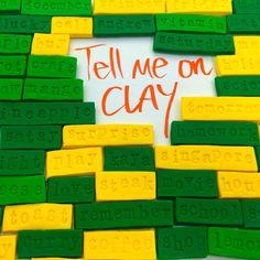 WahSoSimple - craft workshops, DIY craft kits and ideas!: DIY Craft Kit: Word Clay Magnets