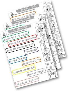 les règles de l'école : travail et jeux autour de ces règles leblogdaliaslili
