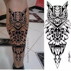 Band Tattoo Designs, Polynesian Tattoo Designs, Maori Tattoo Designs, Owl Tattoo Design, Tattoo Sleeve Designs, Sleeve Tattoos, Leg Band Tattoos, Leg Tattoo Men, Top Tattoos