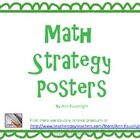9 math strategy posters with simple explanations and visuals to help students better access the information presentedIncludes:Work BackwardsAct ...