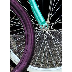 Neon Bicycle Abstract Art Print Office Home Décor Teens by #ArtBJC #etsyfind #chaoscurators