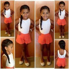 cute mixed girl hairstyles - Google Search she is so adorable