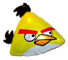 """Anti-Gravity Hovering Flying Floating 23"""" Yellow Angry Birds Balloon Party Favor, http://www.amazon.com/dp/B00F2OCWCS/ref=cm_sw_r_pi_awdm_XCldvb0P1JPP3"""