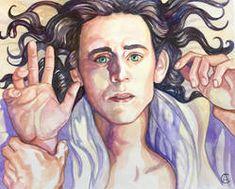 Loki Art, Thor X Loki, Loki Marvel, Marvel Art, Loki Jotun, Loki God Of Mischief, Marvel Drawings, Caravaggio, Tom Hiddleston Loki