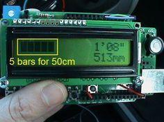 Arduino reverse parking sensor