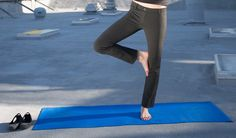 Dress Pants Yoga pants are made of a performance knit and are appropriate for work.