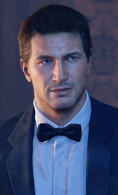 So handsome. Love Nathan Drake.