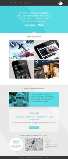 Website design layout. Inspirational UX/UI design sample.  Visit us at: http://www.sodapopmedia.com #WebDesign #UX #UI #WebPageLayout #DigitalDesign