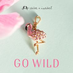 Go wild! Awesome new charms for your Toggle Bracelet www.chloeandisabel.com/boutique/elena