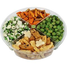 Premium Gourmet Nuts & Peas Assorted Gift Basket, Healthy Mix Fresh and Roasted. -- Check out this great product.
