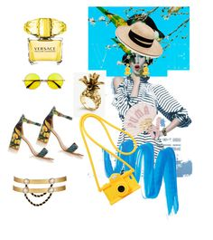 """""""#5#"""" by fanipolychroniou on Polyvore featuring Janessa Leone, Puma, Humble Chic, Ann Taylor, Bulgari, L.A. Girl, Moschino, Versace and Maison Mayle"""