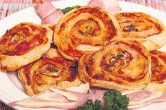 Pizzové slimáčiky