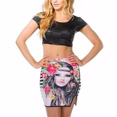 Best offers on bulk purchase of wholesale colorful sublimated mini skirt from Alanic Global, reputed manufacturer in USA, Australia and Canada.